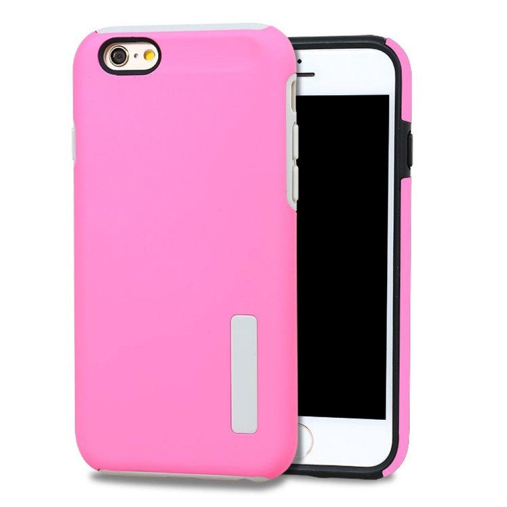 wholesale iphone 7 pro armor hybrid case hot pink. Black Bedroom Furniture Sets. Home Design Ideas