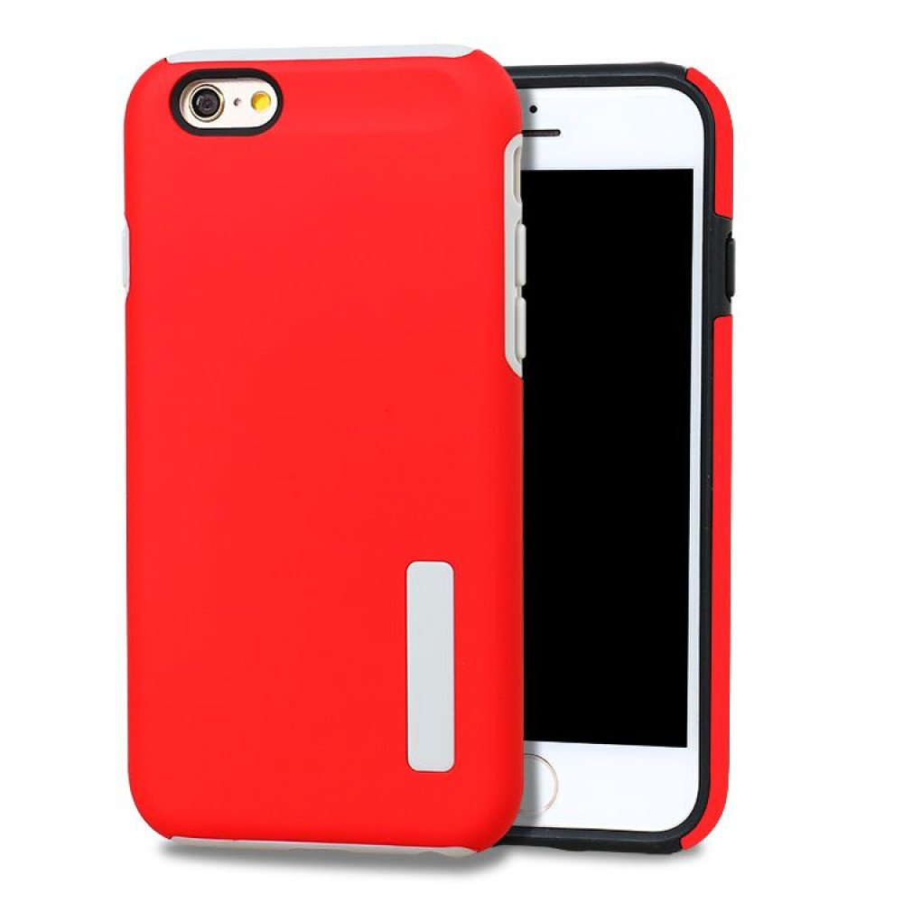 Wholesale Iphone 7 Pro Armor Hybrid Case Red