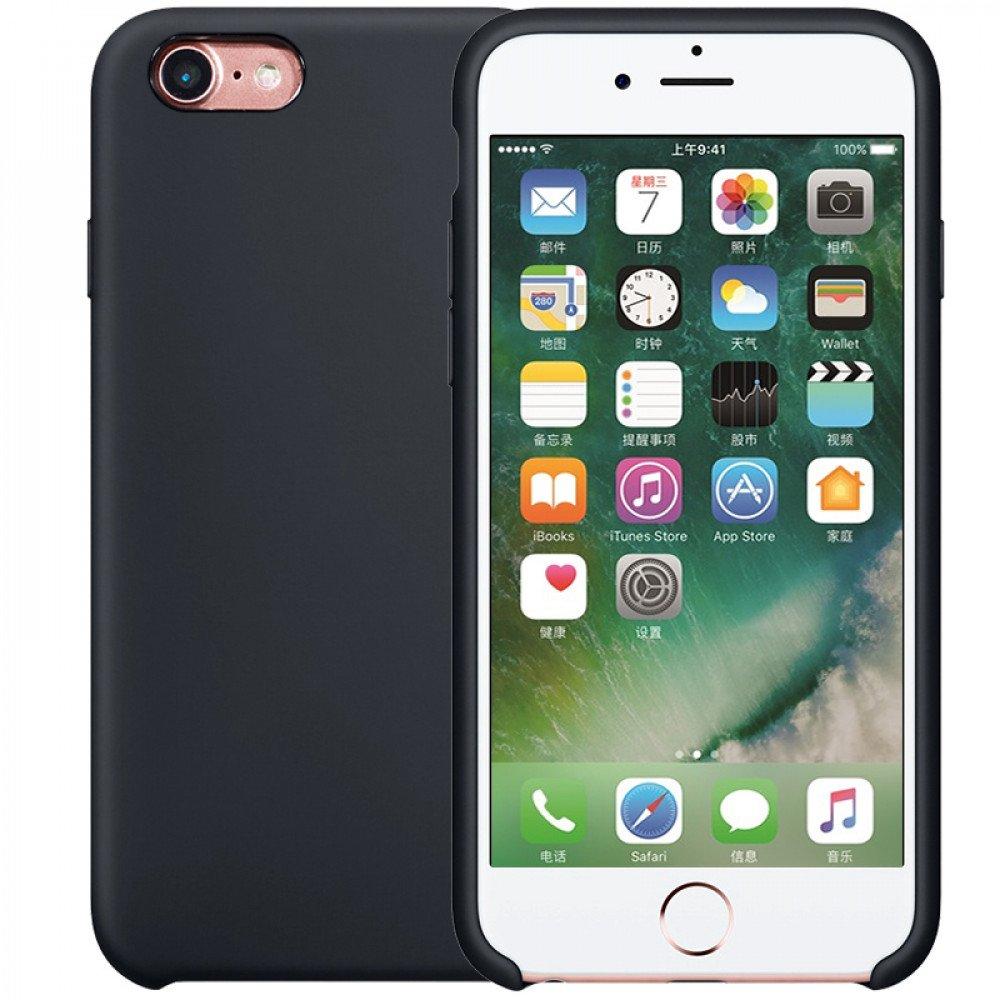 wholesale iphone 8 7 pro silicone hard case black. Black Bedroom Furniture Sets. Home Design Ideas