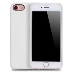 iPhone 8 / 7 Pro Silicone Hard Case (White)