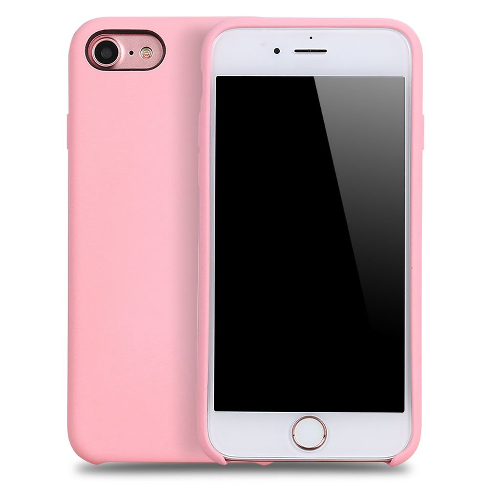 wholesale iphone 8 7 pro silicone hard case pink. Black Bedroom Furniture Sets. Home Design Ideas