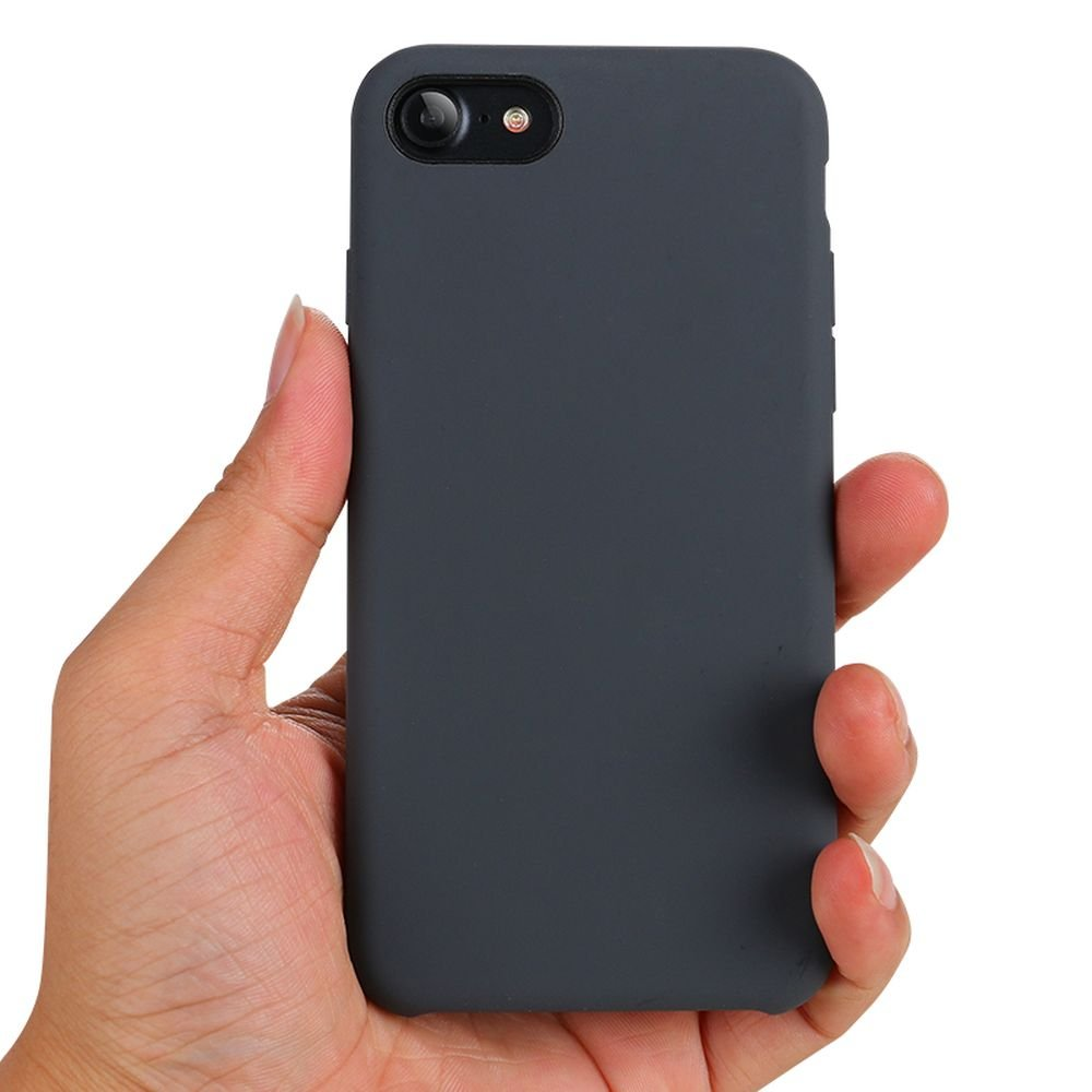 new styles 69827 8dcc2 Wholesale iPhone 8 Plus / 7 Plus Pro Silicone Hard Case (Space Gray)