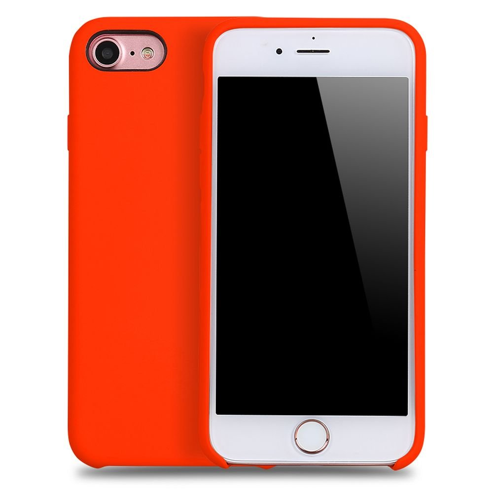 wholesale iphone 8 7 pro silicone hard case red. Black Bedroom Furniture Sets. Home Design Ideas