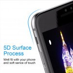 Wholesale iPhone 8 / 7 / 6S / 6 5D Tempered Glass Full Screen Protector (5D Glass Black)