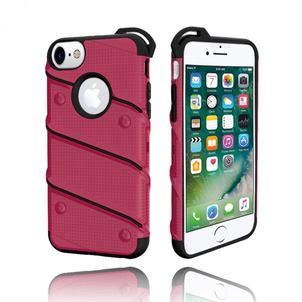 wholesale iphone 7 shockproof hybrid case hot pink. Black Bedroom Furniture Sets. Home Design Ideas
