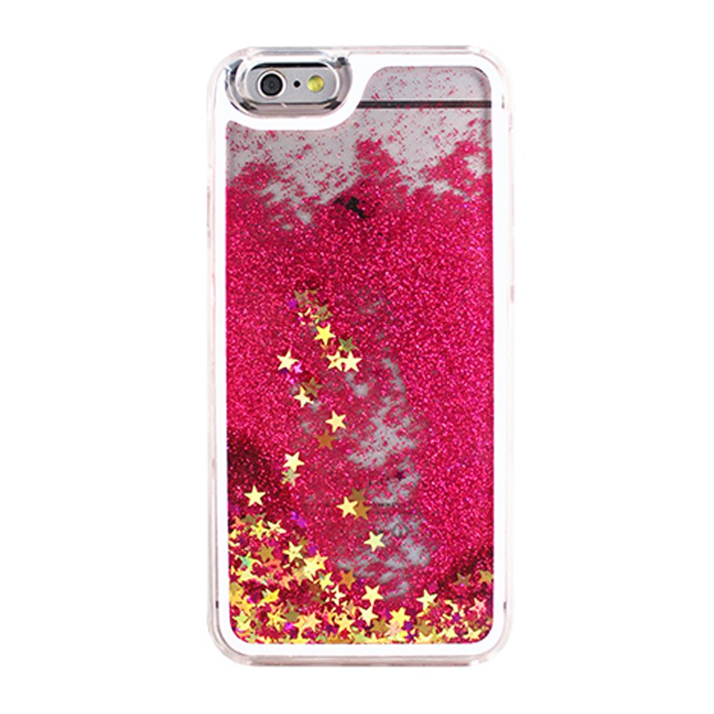 Wholesale Iphone 7 Glitter Shake Star Dust Clear Case Hot