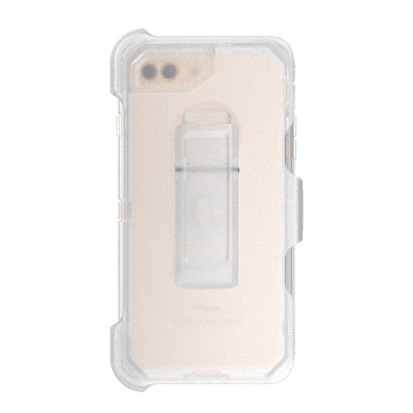 Wholesale iPhone X (Ten) Premium Armor Defender Clip Only (Clear)
