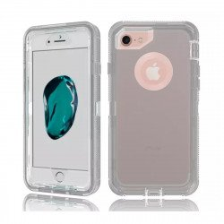 iPhone 8 / 7 / 6S / 6 Transparent Armor Defender Case (Smoke)