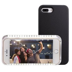 iPhone 6S Plus / iPhone 6 Plus Selfie Illuminated LED Light Case (Black)