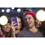 Wholesale iPhone 6S / iPhone 6 Selfie Illuminated LED Light Case (Black)