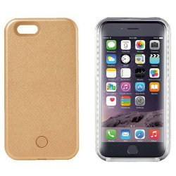 iPhone 8 Plus / 7 Plus Selfie Illuminated LED Light Case (Champagne Gold)