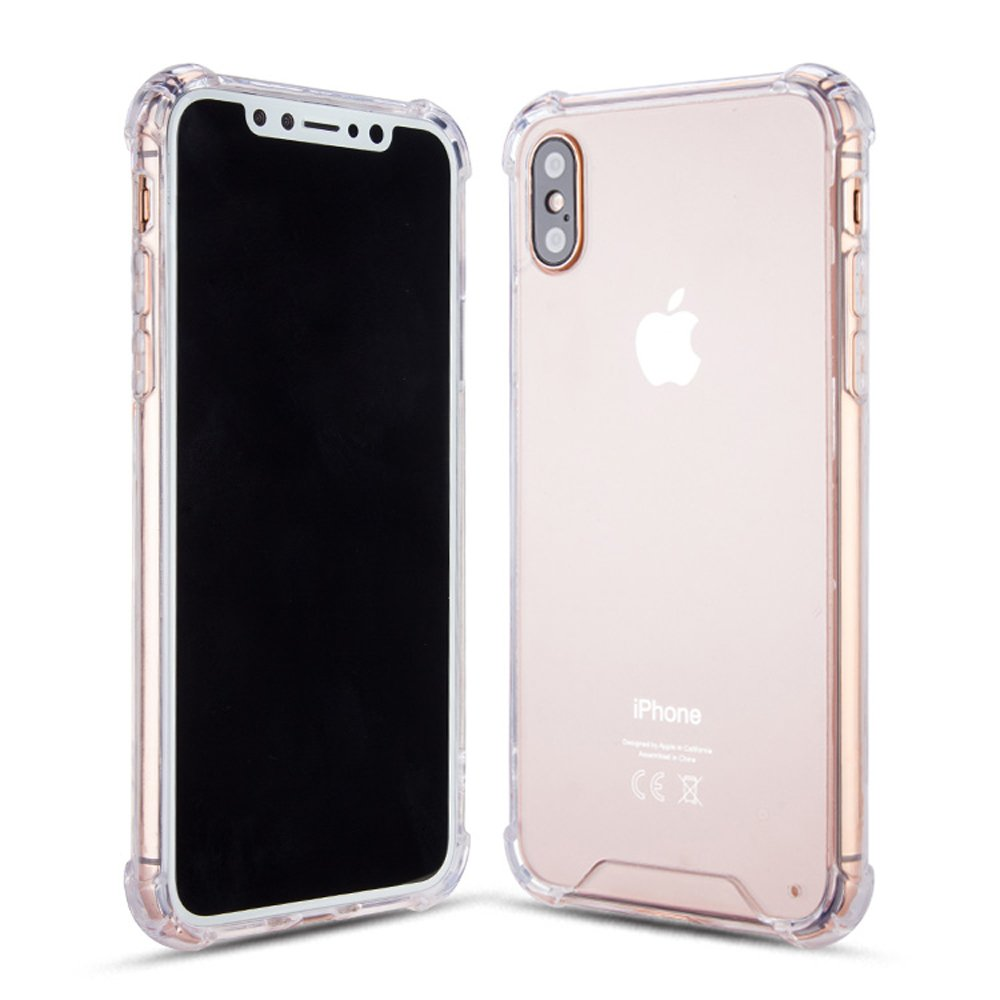 Wholesale Iphone X Ten Crystal Clear Transparent Case
