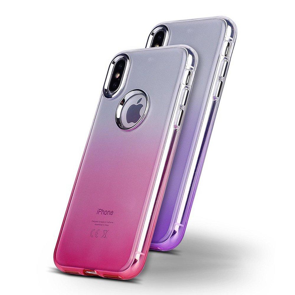 separation shoes c54a6 7085a Wholesale iPhone X (Ten) 360 Gradient Armor Hybrid Case (Hot Pink)
