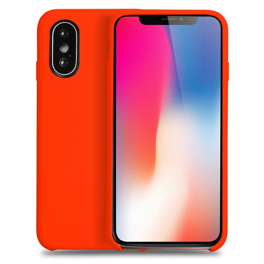 wholesale iphone xs x ten pro silicone hard case red. Black Bedroom Furniture Sets. Home Design Ideas