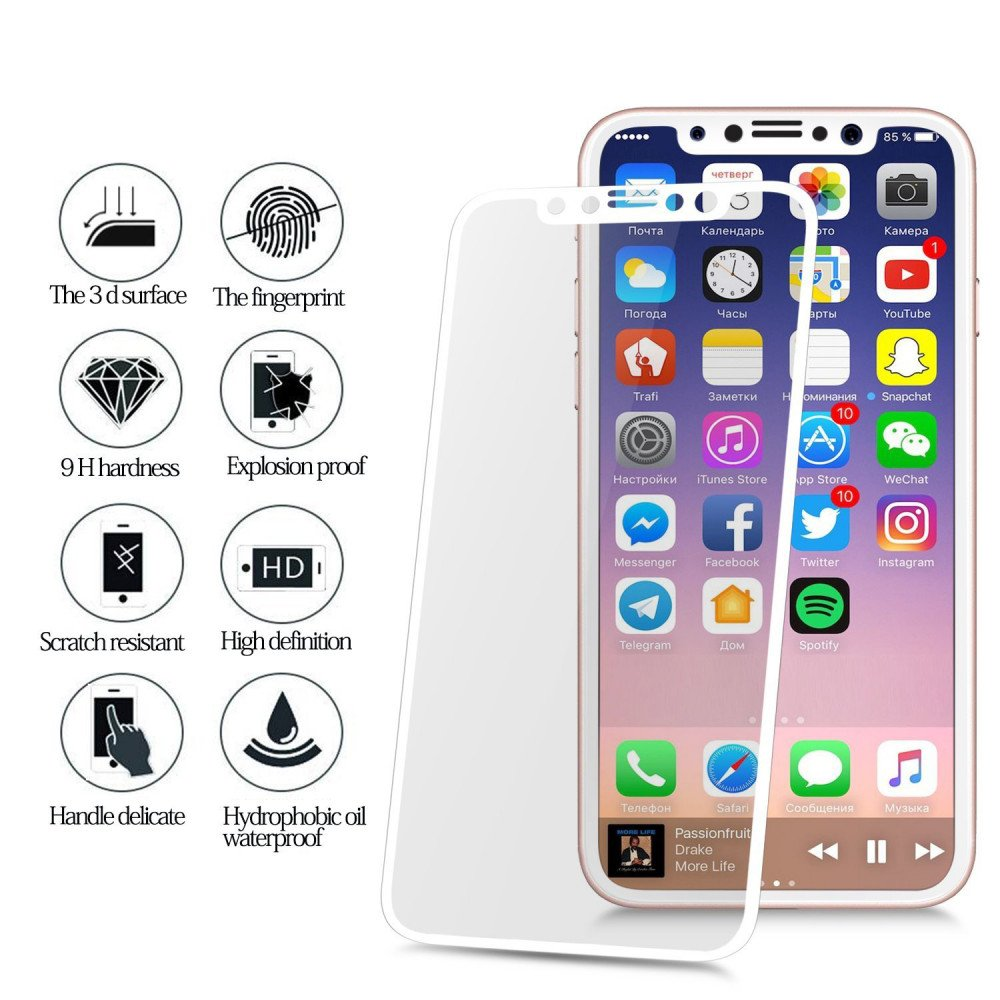 Iphone X Screen Protector Case