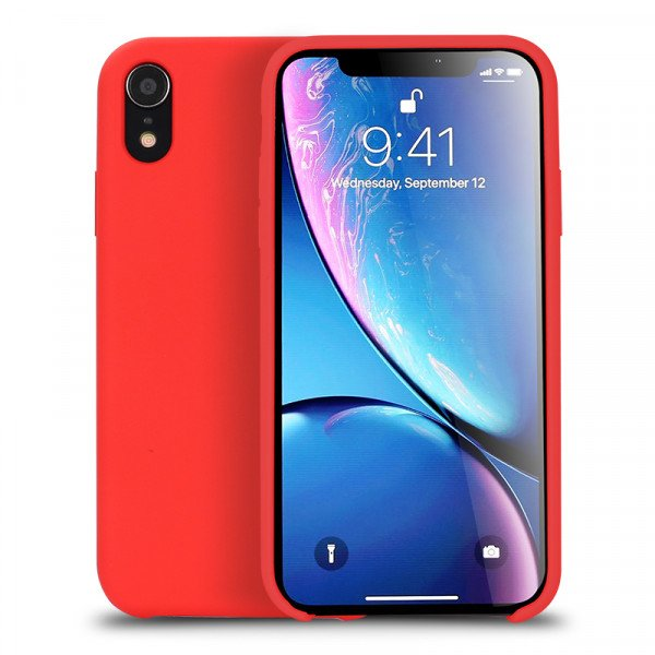 Wholesale iPhone Xr 6.1in Pro Silicone Hard Case (Red)