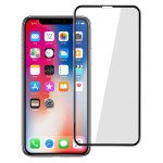 Wholesale iPhone Xs Max 5D Tempered Glass Full Screen Protector (5D Glass Black)