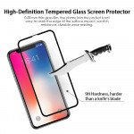 Wholesale iPhone Xr 6.1in 5D Tempered Glass Full Screen Protector (5D Glass Black)