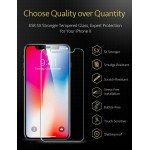 Wholesale iPhone Xr 6.1in Tempered Clear Glass Screen Protector (Clear)
