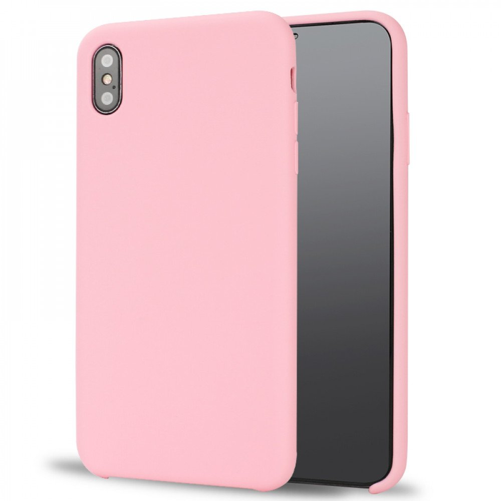 online store 14d1b d4782 Wholesale iPhone Xs Max Pro Silicone Hard Case (Pink)