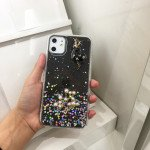 Wholesale iPhone 11 Pro Max (6.5in) 3D Deer Crystal Diamond Shiny Case (Smoke)