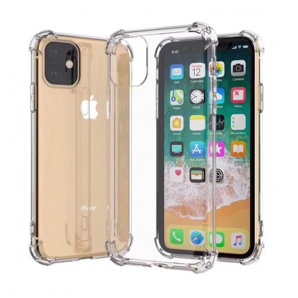 Wholesale iPhone 11 Pro Max (6.5in) Crystal Clear Soft Transparent Case with Bumper Corner (Soft Clear)