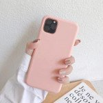 Wholesale iPhone 11 Pro (5.8 in) Full Cover Pro Silicone Hybrid Case (Pink)