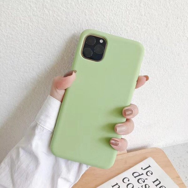 Wholesale iPhone 11 Pro Max (6.5 in) Full Cover Pro Silicone Hybrid Case (Spearmint Green)