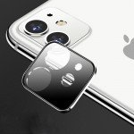 Wholesale iPhone 11 (6.1in) Camera Lens HD Tempered Glass Protector (Silver)