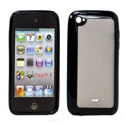 Apple iPod Touch 4 Gummy Case (Black)