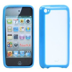 Apple iPod Touch 4 Gummy Case (Blue)