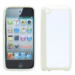 Apple iPod Touch 4 Gummy Case (White)
