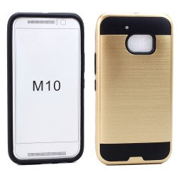 HTC One M10 Iron Shield Hybrid Case (Champagne Gold)