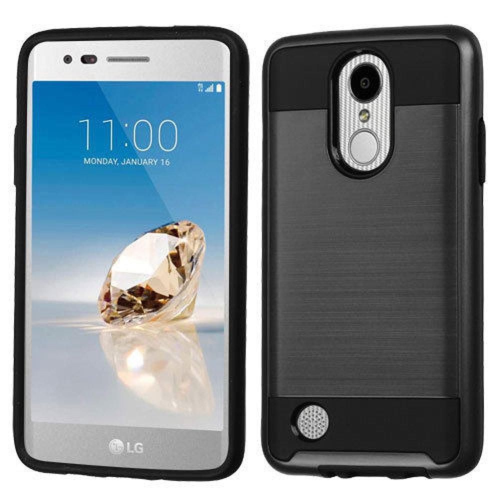 best service d8658 f6f31 Wholesale LG Aristo, LG LV3, LG MS210 Armor Hybrid Case (Black)