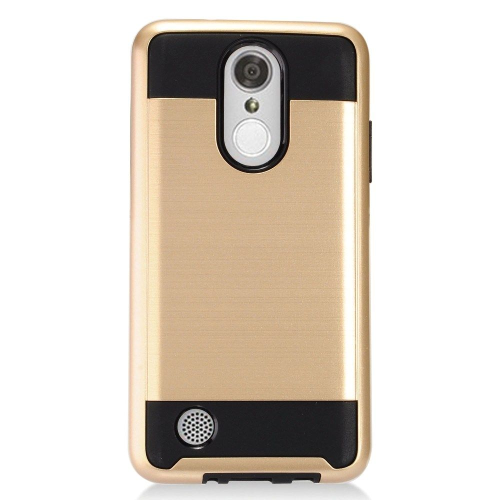 half off 34aa8 d8d82 Wholesale LG Aristo, LG LV3, LG MS210 Armor Hybrid Case (Champagne Gold)
