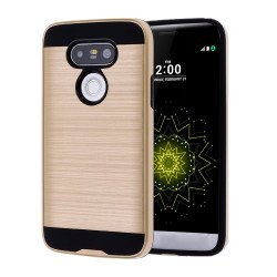 LG G5 Iron Shield Hybrid Case (Champagne Gold)