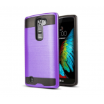 Wholesale LG K10 Premier LTE Iron Shield Hybrid Case (Purple)