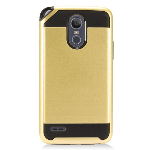 Wholesale LG Stylo 3 Armor Hybrid Case (Champagne Gold)