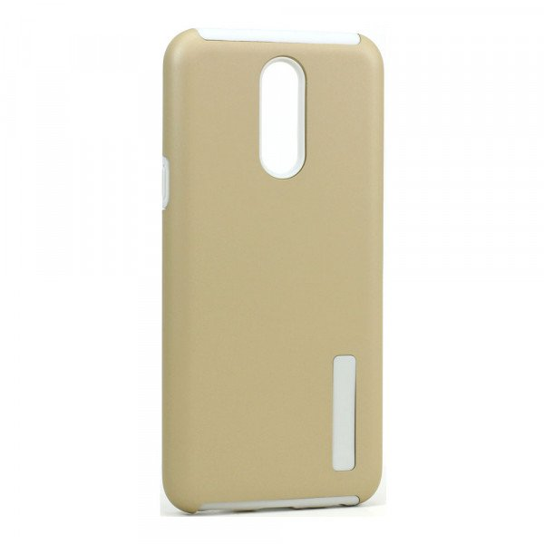 Wholesale LG K40 / K12 Plus / X4 (2019) Ultra Matte Armor Hybrid Case (Gold)