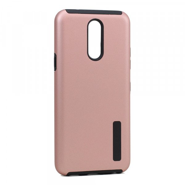 Wholesale LG K40 / K12 Plus / X4 (2019) Ultra Matte Armor Hybrid Case (Rose Gold)