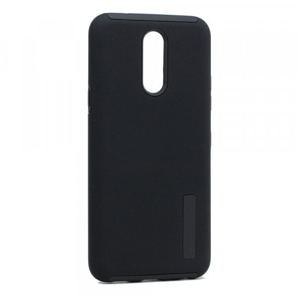 Wholesale LG K40 / K12 Plus / X4 (2019) Ultra Matte Armor Hybrid Case (Black)