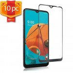 Wholesale LG K51 / Q51 Tempered Glass Screen Protector 10pc Pack (Clear Black Edge)