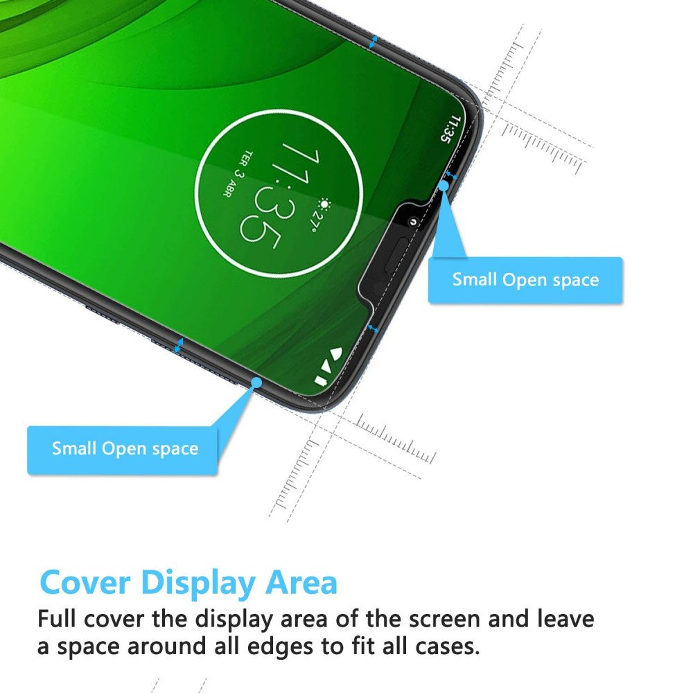 Wholesale Moto G7 Power / G7 Supra / XT1955 Clear Tempered