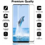 Wholesale 3D Tempered Glass Full Screen Protector with Working Adhesive In Screen Finger Scanner for Samsung Galaxy S21 5G (Clear)