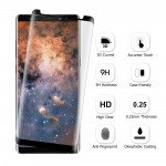 Wholesale Galaxy Note 8 Curve Tempered Glass Full Screen Protector (Glass Black)