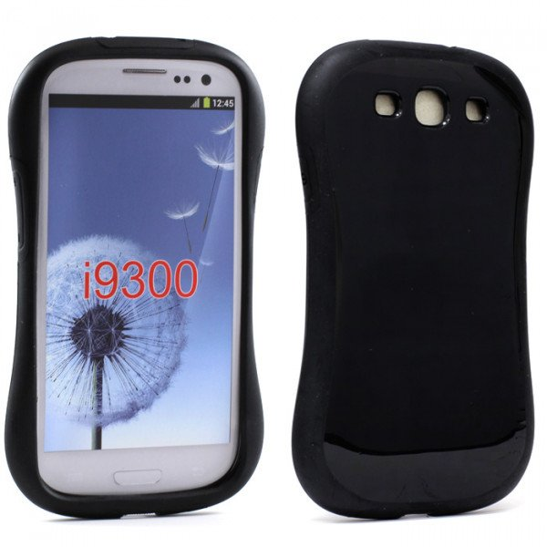 Wholesale Samsung Galaxy S3 Candy Shell Case (Black)