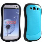 Wholesale Samsung Galaxy S3 Candy Shell Case (Sky Blue)