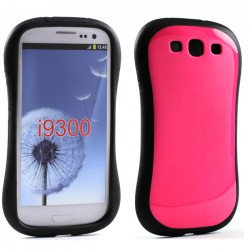 Samsung Galaxy S3 Candy Shell Case (Hot Pink)
