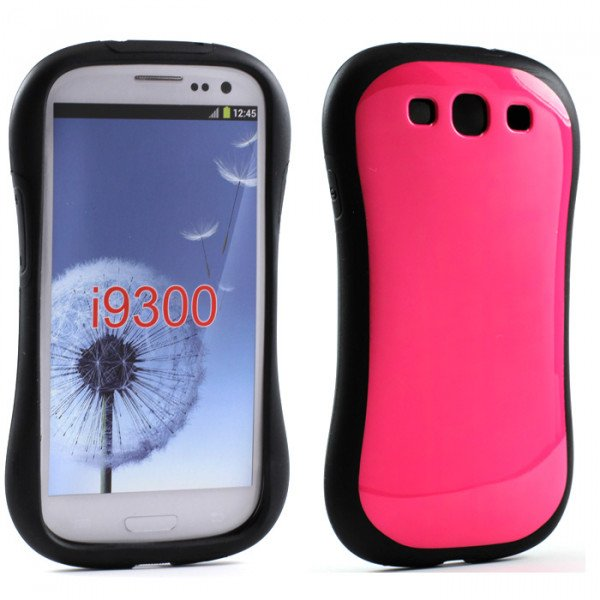 Wholesale Samsung Galaxy S3 Candy Shell Case (Hot Pink)