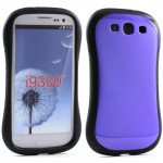 Wholesale Samsung Galaxy S3 Candy Shell Case (Purple)